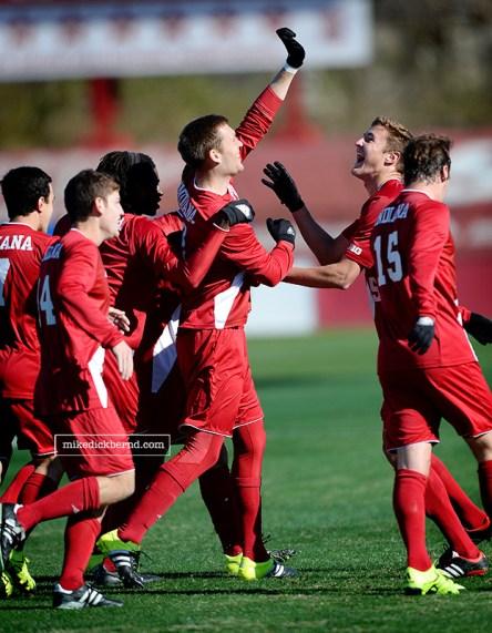 Ben Maurey, goal celebration