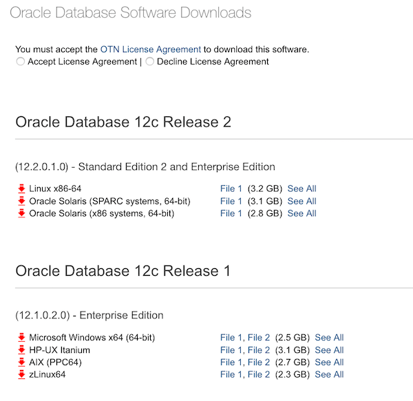 In case you miss the downloads of Oracle Database 12.1.0.2 on OTN
