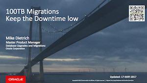 VLDB Migrations - FTEX, RMAN