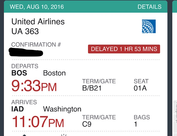 UA is always delayed