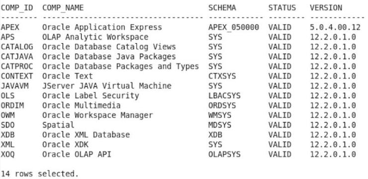 Remove and Clean Up Components from Oracle Database 11.2 - 12.2
