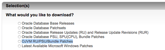 Are OJVM patches included in the Oracle 12.2 RU / RUR?