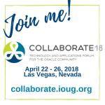 Collaborate IOUG 2018 in Las Vegas