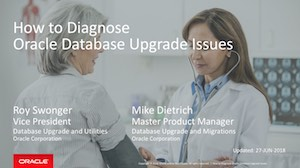 Diagnose Upgrade Issues