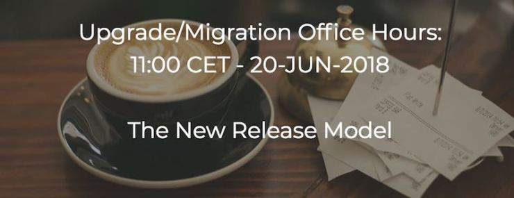 Office Hours: June 20, 2018 - The New Release Model