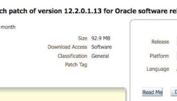Installing Oracle Database 18c – Upgrade your Database - NOW!
