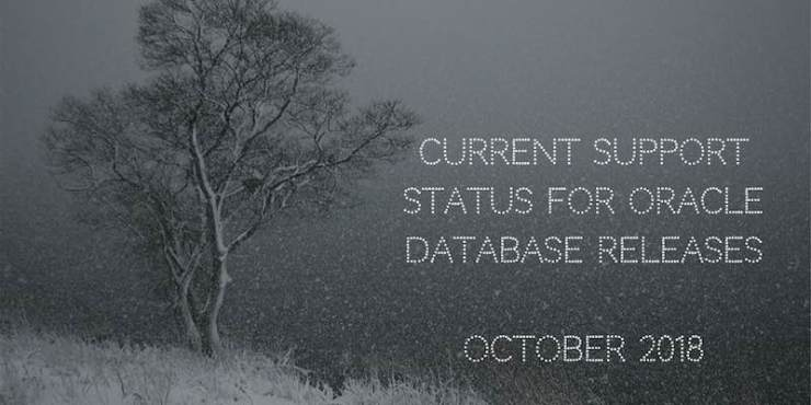 Current Support Status for Oracle Database Releases