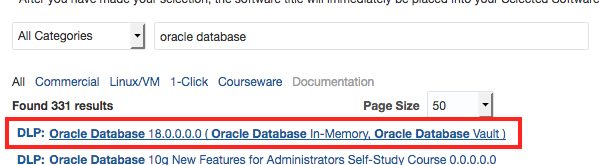 Oracle Database 18c for AIX, HP-UX and zLinux available