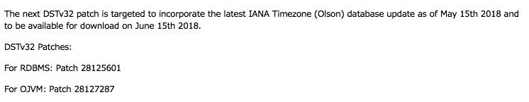 """Does the PDB$SEED get """"time zone"""" patched or not?"""