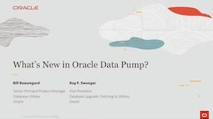 Data Pump Oracle 19c