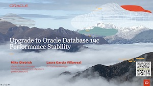 Slides Download: Webinar AutoUpgrade and Performance Stability to Oracle 19c
