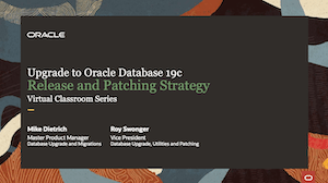 Web Seminar 1 - Release and Patching Strategy