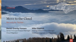 Web Seminar 6 - Move to the Cloud 15-Oct-2020