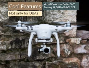 Cool Features not only for DBAs - Virtual Classroom Series No.7