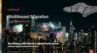 Migration to Multitenant 16-MAR-2021