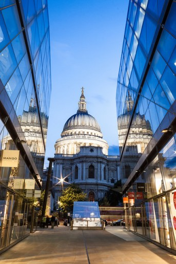 St Paul's Cathedral - Reflections by Mike Dixson
