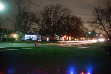 Those lights around the edges are not light leaks, they are Christmas lights from my lawn.