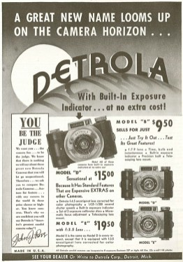 This ad is from the April 1939 issue of Popular Photography.