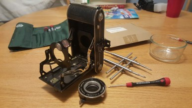 The Wirgin Auta completely disassembled.