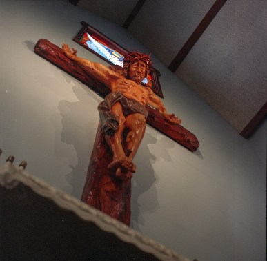 Jesus is watching you...