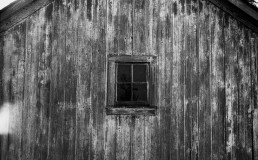A flat image of a heavily weathered barn shows an incredible amount of detail.