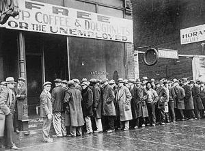 Image of Food Lines Great Depression
