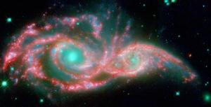 Image of Paired Galaxies
