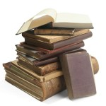 Image of stack of old books