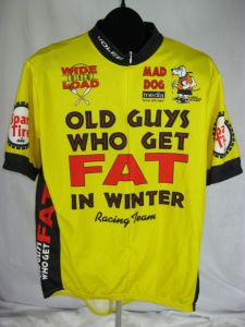 Old guys who get FAT in winter Jersey