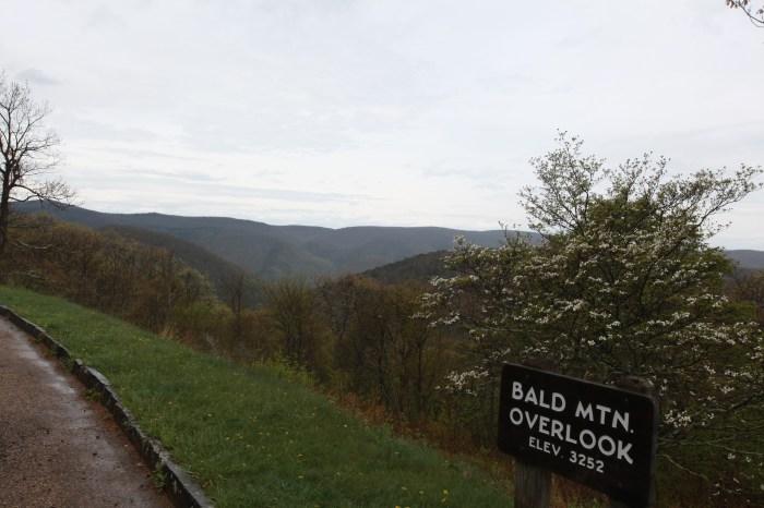Bald Mountain Overlook - 3200 ft.