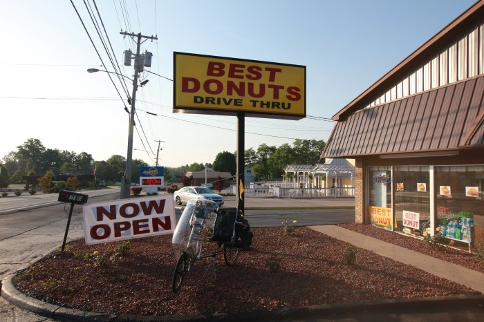 Best Donuts? Persephone liked them. Columbia,KY.