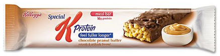 Special K Protien Bars 4/10 Pros: Taste OK. Readily available. Cons: Too sweet. Feels more like a candy bar than an energy bar.