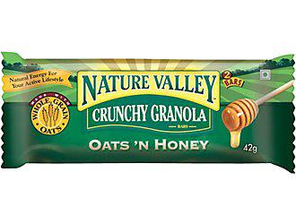 Nature's valley 1 /10 Pros: More substantial than air/water. Cons: Super sweet. Clearly not real food. Blech.
