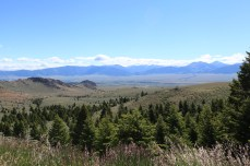 View from the top of the pass between Ennis,MT and Virginia City, MT