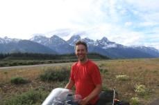 Me at Grand Teton National Park