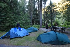 Our campsite at Whitehouse Campground is among the most beautiful and peaceful of the trip. —Clearwater National Forest, ID