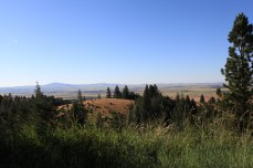 Approaching the top of White Bird HIll, ID