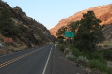 The climb up to Keyes Creek Pass, OR.