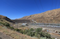 The Brownlee Dam on the ID-OR border.