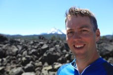 Selfie at South Sister. --Willamette National Forest, OR.