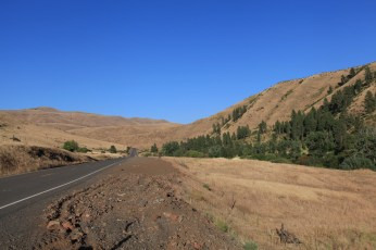 The final few miles of Hell's Canyon in Oregon.