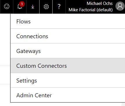 Custom Connector