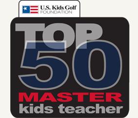US Kids Golf Master KIds Teacher Logo For Website
