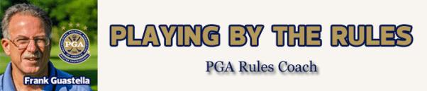 Frank Guastella PGA Rules Coach