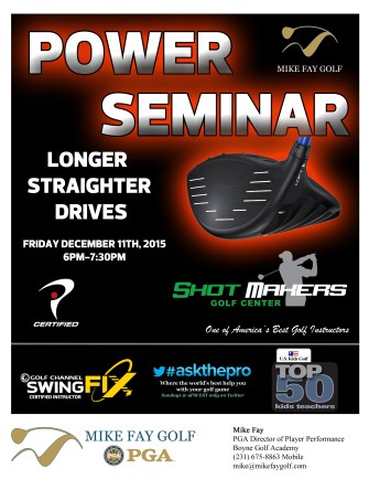 Power Seminar Flyer