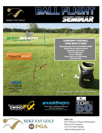 Ball Flight Seminar Flyer