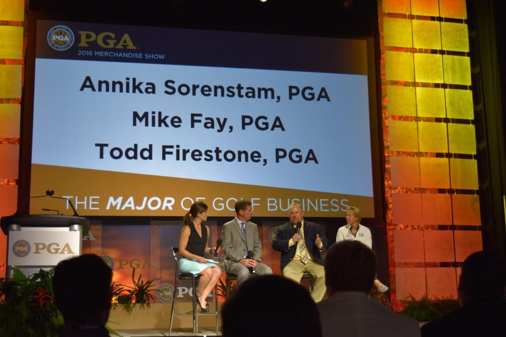 2016 PGA Merchandise Show Forum Stage Social Media Presentation