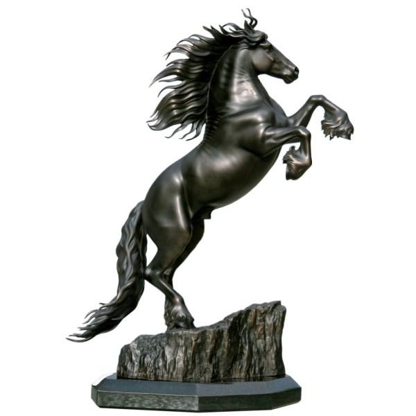 Bronze Horse Sculpture Stallion