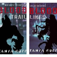 "Getting physical with books and remembering Tanya Huff's ""Blood"" series"