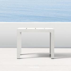 Aegean Aluminum Side Table